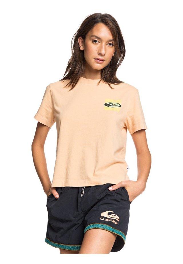 T-shirt print - coral sands