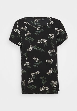 VMSAGA - T-shirt print - black/nellie