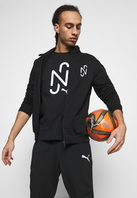 Puma - NEYMAR JR TRACK JACKET - Zip-up sweatshirt - black - 4