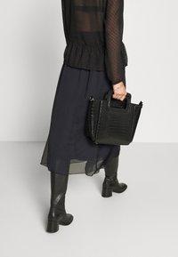 Saint Tropez - CORAL SKIRT - A-line skirt - black - 3