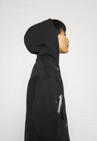 Calvin Klein Jeans - ECO LOGO HOODIE DRESS - Vestito estivo - black - 3