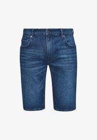 s.Oliver - REGULAR - Denim shorts - blue - 6