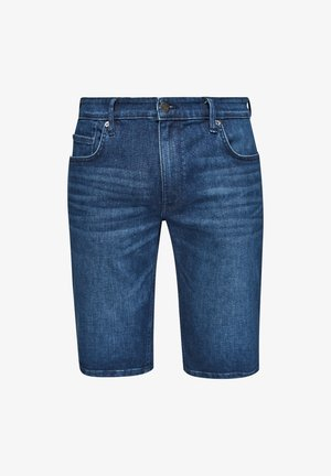 REGULAR - Denim shorts - blue