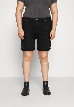 CARLAOLA LIFE - Shorts di jeans - black