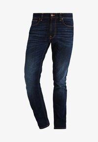Nudie Jeans - LEAN DEAN - Jeans slim fit - dark deep worn - 4