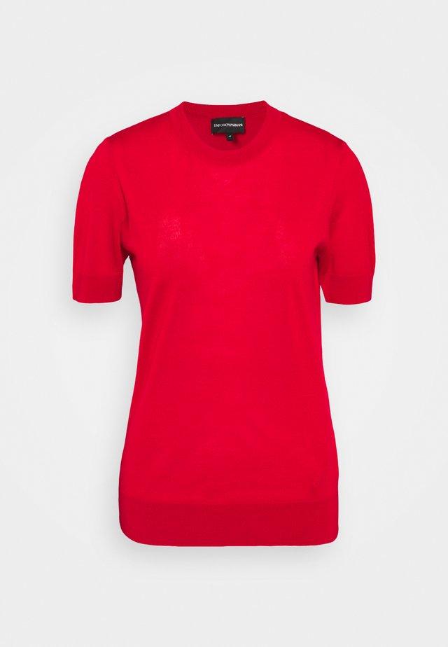 Camiseta estampada - rosso grafico