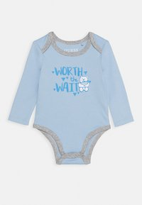 Guess - BODY AND PANTS BABY SET - Body - white/blue combo - 1