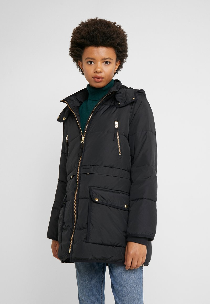 J.CREW - CHATEAU PUFFER - Winter coat - black