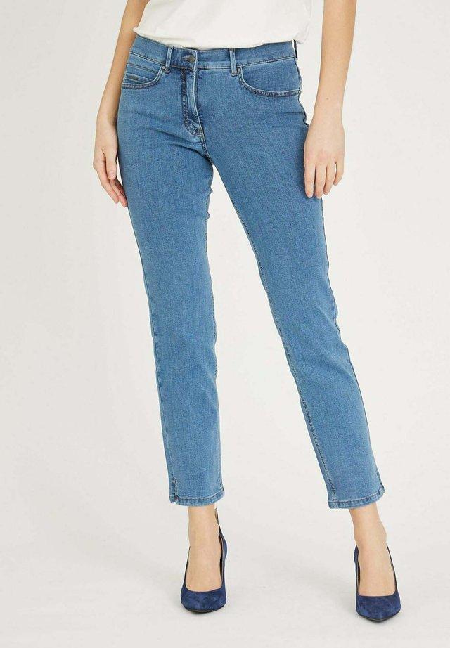 CHRISTIE - Jeans slim fit - bluedenim