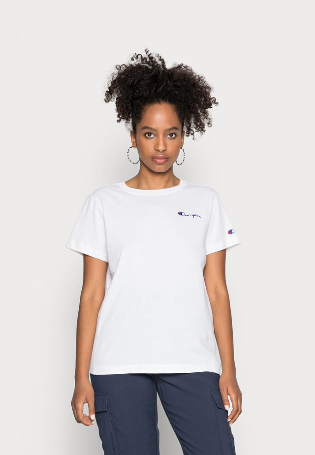 SMAL SCRIPT CREWNECK  - Basic T-shirt - white