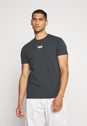 SMALL LOGO TEE - T-shirt print - blue graphite