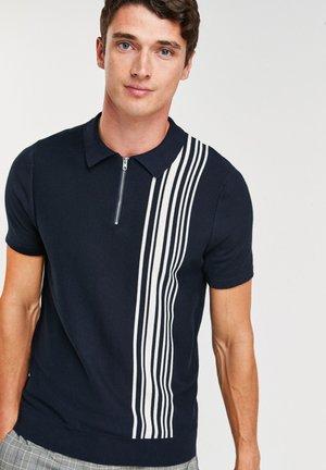 VERTICAL STRIPE  - Polo shirt - dark blue