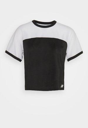 VELOCITY - Treningsskjorter - black/white