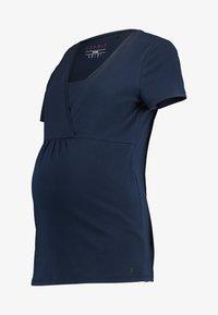 Esprit Maternity - NURSING - T-shirt basic - night blue - 4