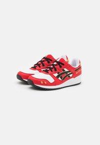 ASICS SportStyle - GEL-LYTE III OG UNISEX - Sneakers basse - classic red/black - 1