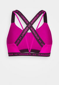Under Armour - CROSSBACK LOW - Light support sports bra - meteor pink - 6