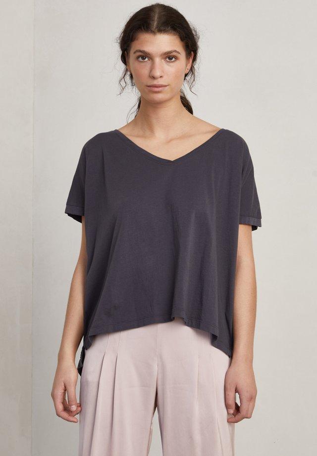 SIMONE - T-shirt - bas - charcoal
