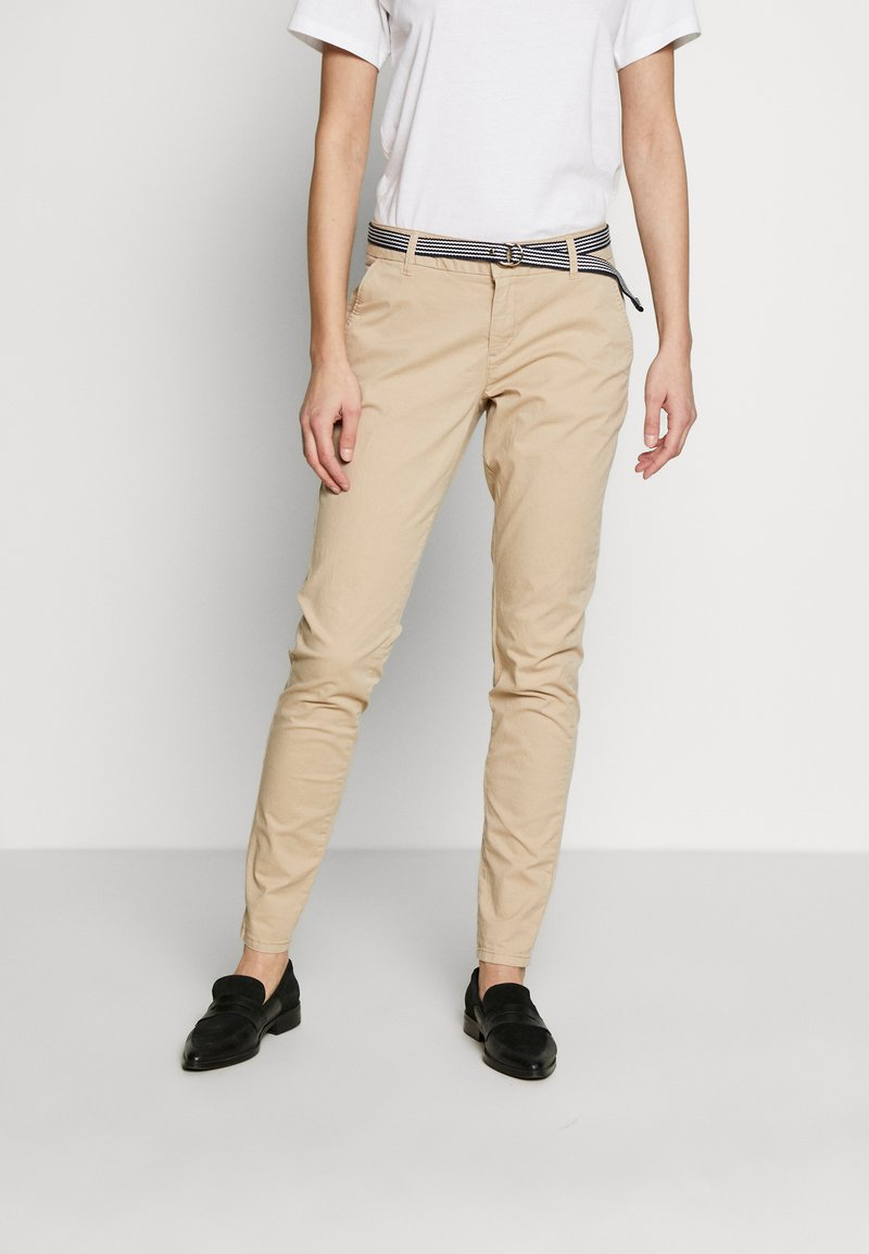 s.Oliver - LANG - Chinos - brown