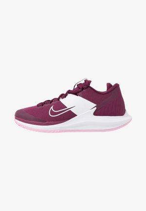 COURT AIR ZOOM HC - Tenisové boty na všechny povrchy - bordeaux/pink rise/white