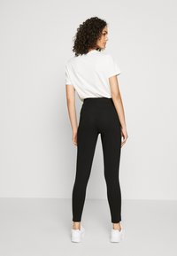 Even&Odd - ZIP PUNTO LEGGINGS - Leggings - black - 2