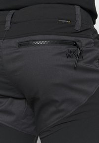Jack Wolfskin - DOVER ROAD PANTS - Outdoor trousers - phantom - 5