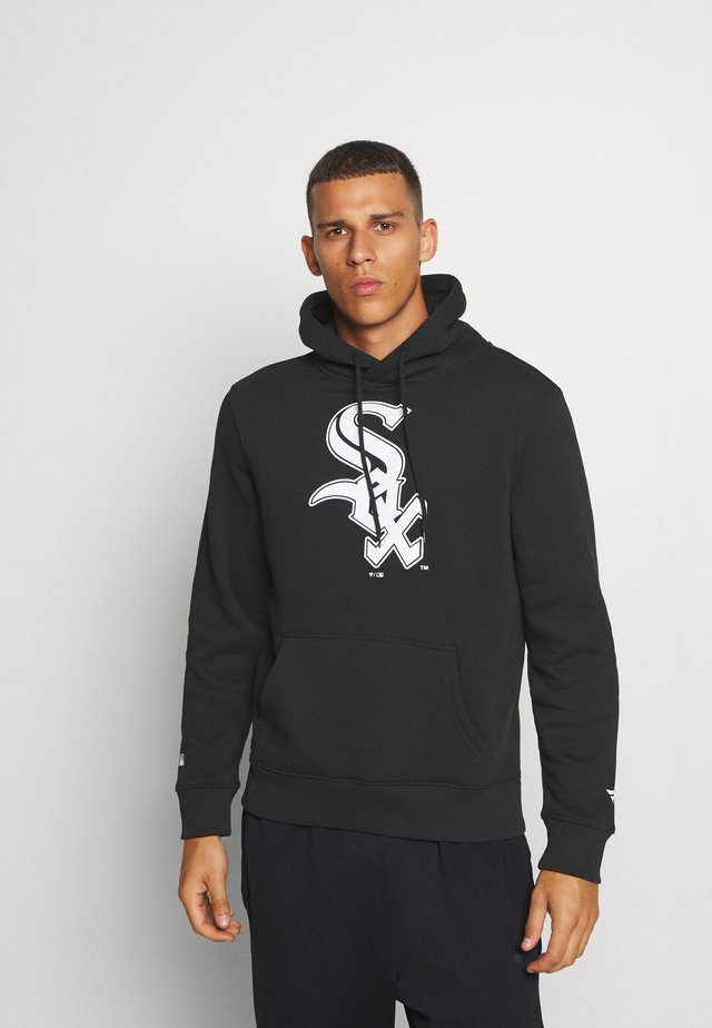 MLB CHICAGO WHITE SOX ICONIC PRIMARY COLOUR LOGO GRAPHIC HOODIE - Felpa con cappuccio - black