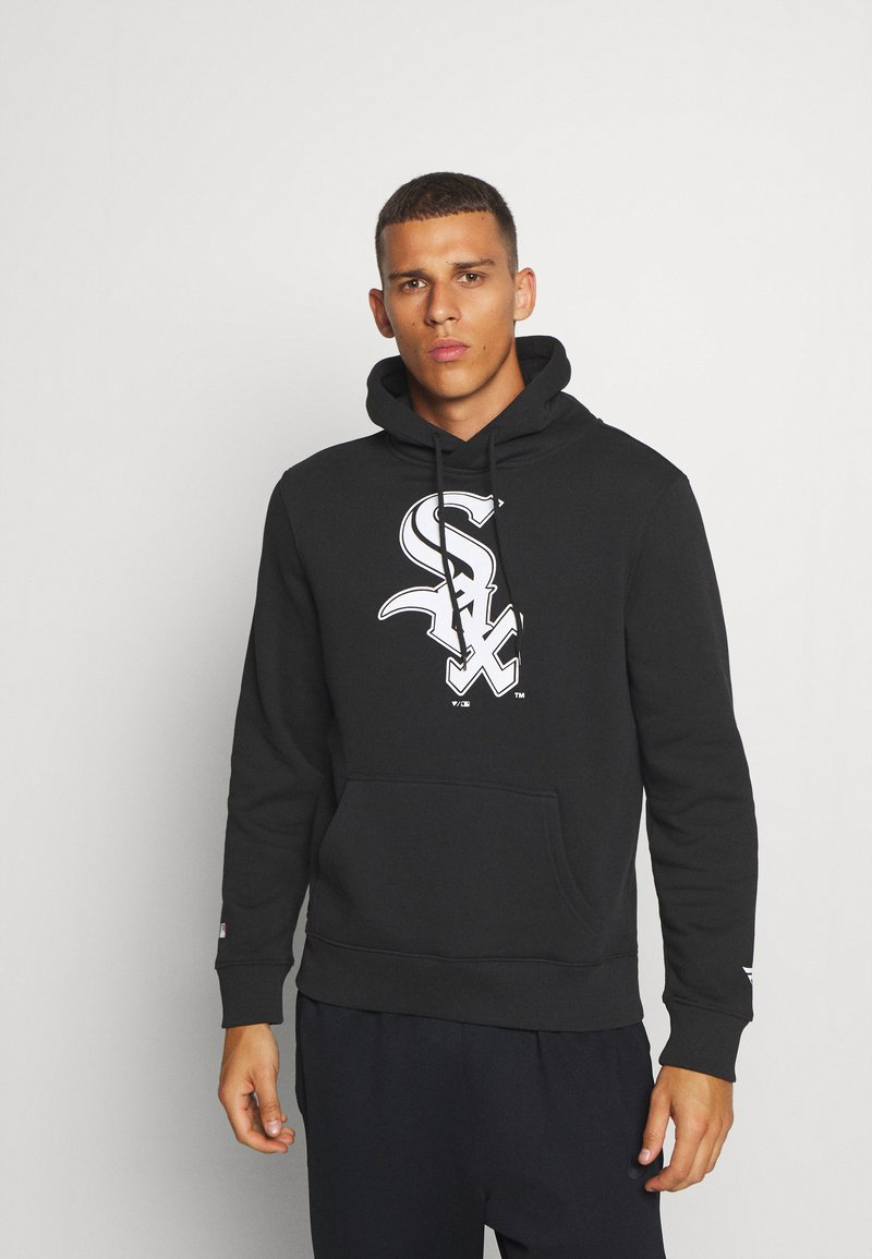 Fanatics - MLB CHICAGO WHITE SOX ICONIC PRIMARY COLOUR LOGO GRAPHIC HOODIE - Hoodie - black