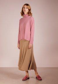 pure cashmere - TURTLENECK - Svetr - rose pink - 1