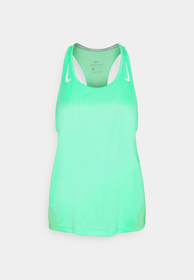 MILER TANK RACER - Sports shirt - green glow