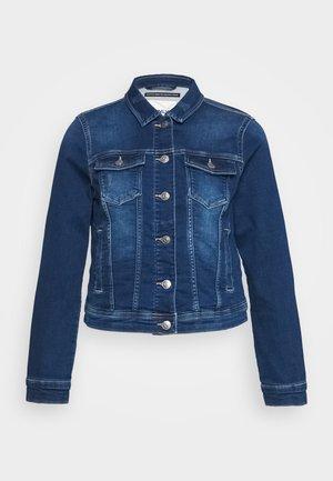 ONLTIA LIFE JACKET - Veste en jean - dark blue denim