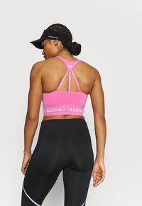 adidas Performance - AEROKNIT BRA - Light support sports bra - pink - 2