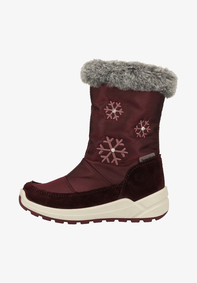 Winter boots - plum/brombeer 392