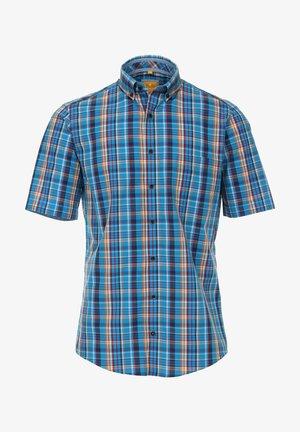 MIT BUTTON DOWN KRAGE - Shirt - blau