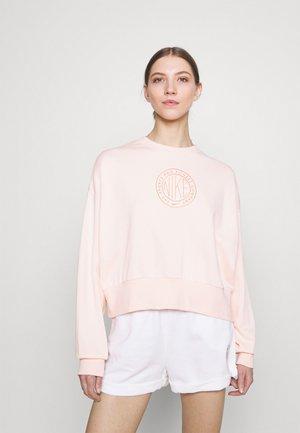 FEMME CREW - Sweatshirt - orange pearl/orange pearl/terra blush