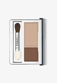 Clinique - ALL ABOUT SHADOW DUO - Ombretto - 01 like mink - 0