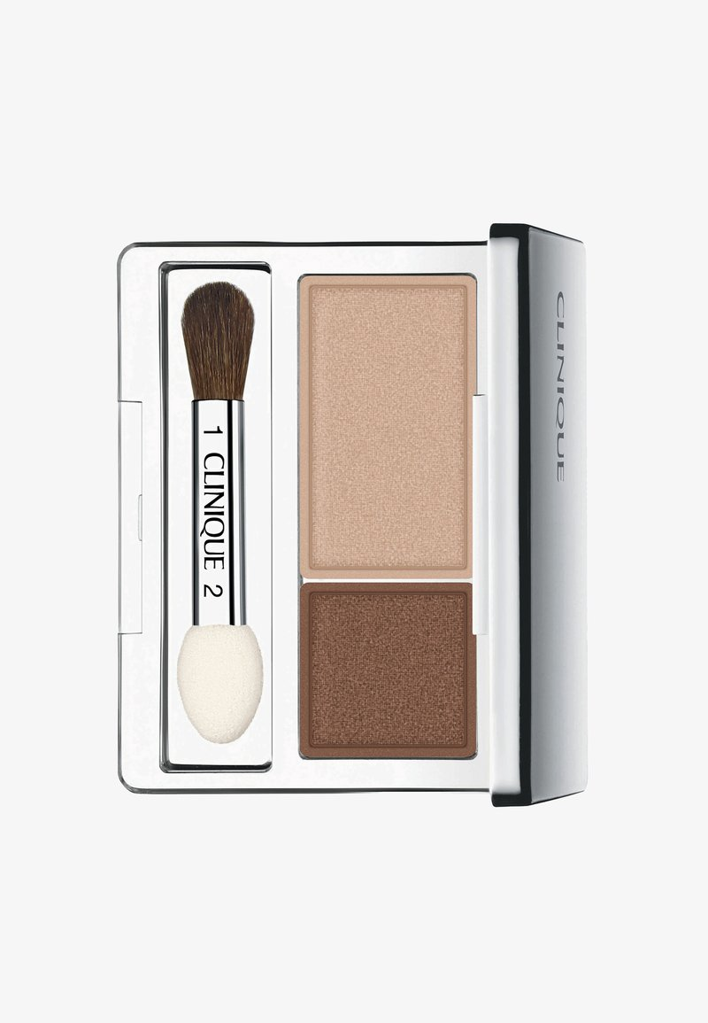 Clinique - ALL ABOUT SHADOW DUO - Eye shadow - 01 like mink