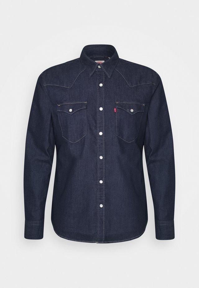 BARSTOW WESTERN SLIM - Koszula - med indigo