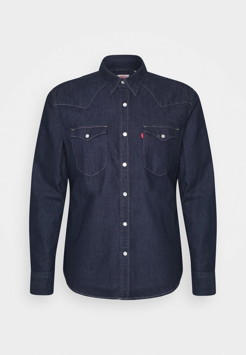 Levi's® - BARSTOW WESTERN SLIM - Shirt - med indigo