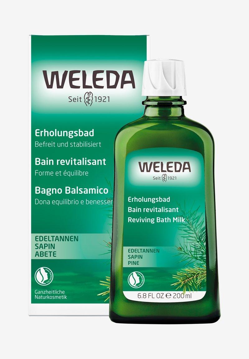 Weleda - PINE REVIVING BATH MILK - Bagnoschiuma - -