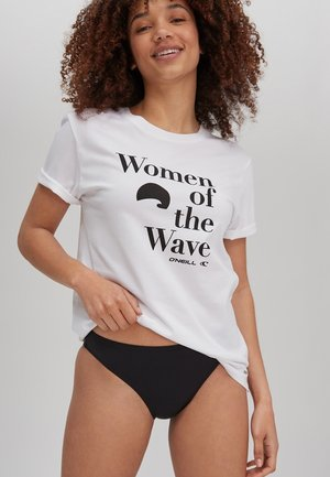 PACIFIC OCEAN - T-shirt med print - powder white
