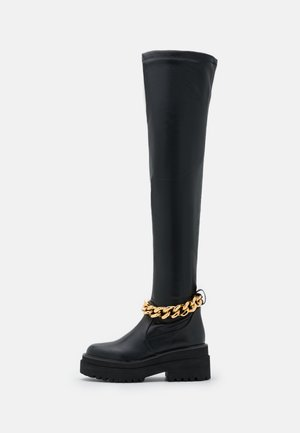LEONIE HANNE - Over-the-knee boots - black