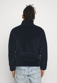KnowledgeCotton Apparel - ELM ZIP TEDDY - Lehká bunda - total eclipse - 2