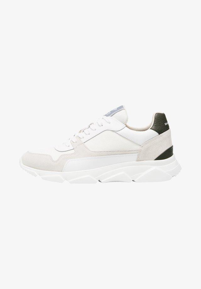 BULKY - Sneakers basse - offwhite/khaki