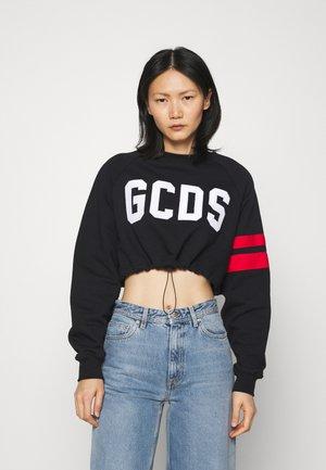 COULISSE CREWNECK REGLAN - Sweatshirt - black