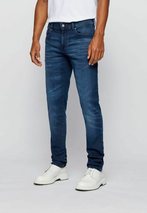 CHARLESTON - Slim fit jeans - dark blue