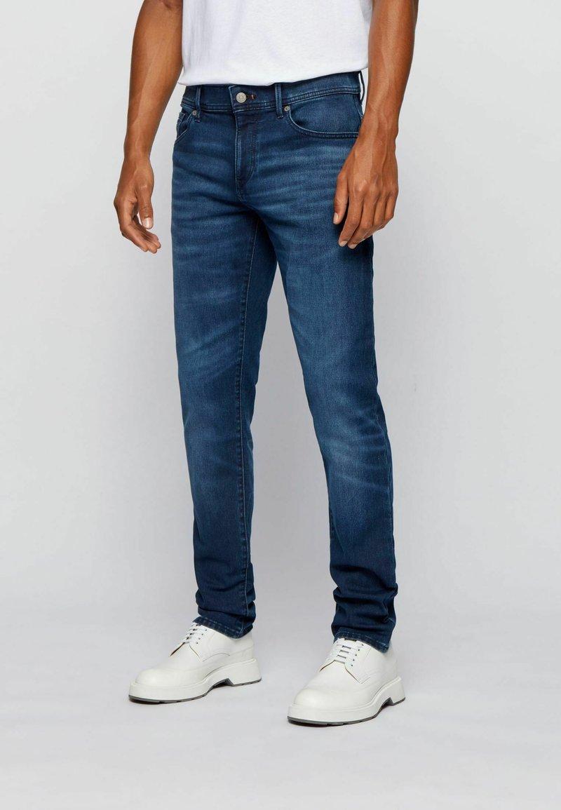 BOSS - CHARLESTON - Slim fit jeans - dark blue