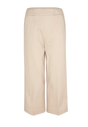POPELINE - Trousers - off-white