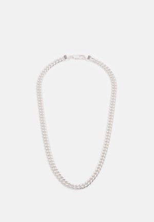 CHAIN NECKLACE - Collana - silver-coloured