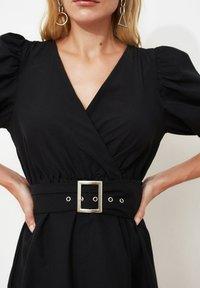 Trendyol - Sukienka letnia - black - 1