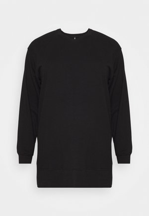 PCROKKA LOUNGE CURVE  - Sweatshirt - black